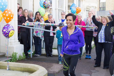 ITV Meridian With Dame Kelly Holmes