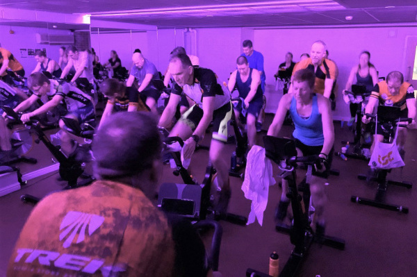24 Hour Spin Charity Event